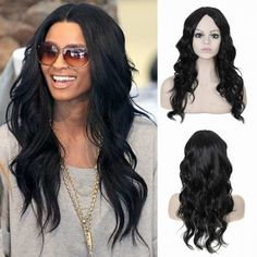 long black big curve curly wigs for women middle parting for sale Cheap Lace Front Wigs, Cheap Wigs, How To Wear A Wig, Wigs For Sale, Wigs Online, Blonde Wig, Womens Wigs, Curly Wigs, Long Curly