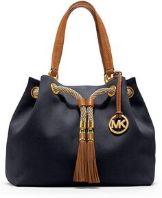 Check out this Blue Canvas Gathered Tote that I found on Ziftit.