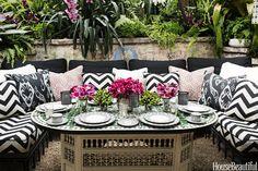 A Super-Glam Garden Party Tablescape