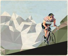 Work done for Dandyhorse Magazine, a Toronto-based cycling magazine. Bike Illustration, Mountain Illustration, Graphic Design Illustration, Geometric Mountain, Bike Poster, Bicycle Art, Bicycle Store, Cycling Art, Cycling Tips