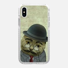 Casetify iPhone X Impact Case - Vintage Cat by Barruf  #cat #iphone #casetify