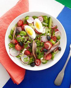 Salade niçoise pour 4 personnes - Recettes Elle à Table