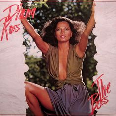 Diana Ross - The Boss Diana Ross, Michael Brecker, Sound Studio, Music Album Covers, Great Albums, Vintage Vinyl Records, Soul Music, Motown, Songs