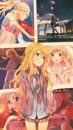 your lie in april Haikyuu Anime, Anime Chibi, Manga Anime, Anime Art, Wallpaper Animes, Cute Anime Wallpaper, Animes Wallpapers, Sad Anime, Otaku Anime
