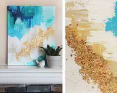 Everyone's Painting Their Own Abstract Art, And You Should Too