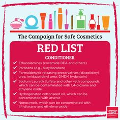 You shouldn't need a PhD in chemistry to choose safe cosmetics and personal care products. That's why we enlisted the Campaign for Safe Cosmetics scientists to make shopping for safe products easier for you. - See more at: http://sc-dev.rootid.in/chemical/red-list/#sthash.j98JhJiJ.dpuf
