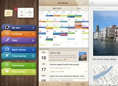 Some Of The Best Designs Of iPad Apps For Inspiration – 33 Examples