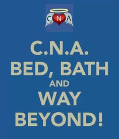CNAs are awesome!