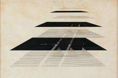 Nasreen Mohamedi Untitled 500 x 700 mm Graphite and ink on paper   © Courtesy Chatterjee & Lal