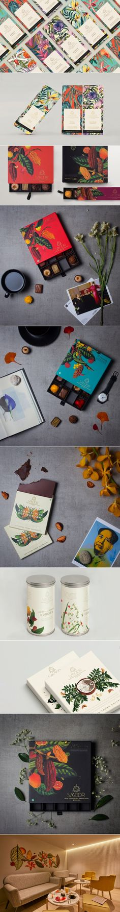 These Chocolates Come With Gorgeous Botanical Illustrations — The Dieline | Packaging & Branding Design & Innovation News
