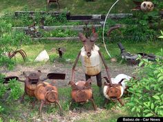Recycle Art – Offbeat Roadside Attractions -