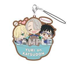 Yuri !!! on ICE / Rubber strap RICH YURI on KATSUDON !!! / Bushiroad