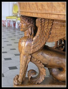 Versailles - grand Trianon: leg of a desk