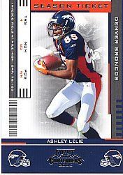 2005 Playoff Contenders #29 Ashley Lelie by Playoff Contenders. $0.13