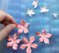 BoBunny: Water Distressed Blooms Tutorial