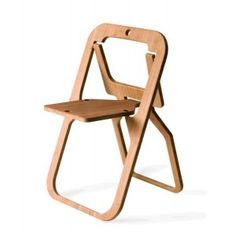 Folding chair DESILE. Designed by Christion DESILE. Available at Darwin's Home on http://www.darwinshome.com/en/chairs/208-folding-chair-desile.html