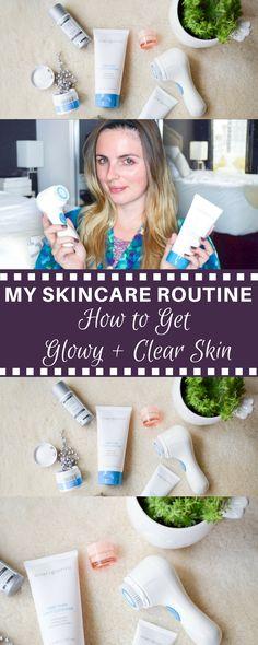 My Skincare Routine | Get Glowy + Clear Skin