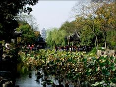 졸정원(拙政園)China  photo by Bang, Chulrin /20021103
