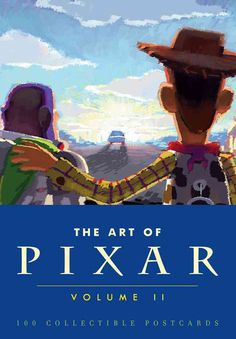 From Ratatouille through Brave, The Art of Pixar: Volume II features gorgeous and illuminating concept art and iconic final frames from the 6 Pixar feature films and 18 short films released from 2007 on. Includes 100 collectible postcards, measuring 4-...