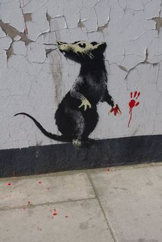 They exist without permission. They are hated, hunted and persecuted. They live in quiet desperation amongst the filth. And yet they are capable of bringing entire civilizations to their knees. If you are dirty, insignificant, and unloved, then rats are the ultimate role model. - Banksy...