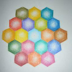 Waldorf ~ 6th grade ~ Math ~ Geometry ~ Honeycomb