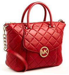 aca7ff2e0fcd Michael by Michael Kors Fulton Quilted Leather Satchel Bag. Looked all over  for this bag found it on sale