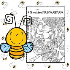 4 de outubro dia dos animais - Atividades Adriana