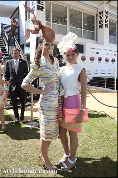f there is any place to capture incredible style, it's at the Melbourne Spring Racing Carnival. Very rarely do such a large number of beautifully dressed people congregate in one place, so it's best to take advantage of it when you can.
