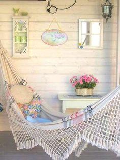 Coisas da Léia: Redes para descanso