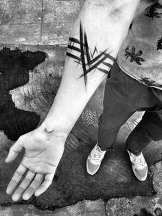 Sketch Style Tattoo by Inez Janiak