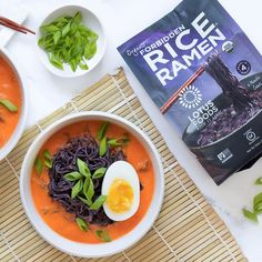 Lotus Foods Tomato Miso Soup With Forbidden Rice Ramen