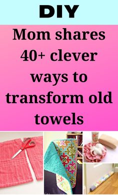 Diy Sewing Projects, Sewing Hacks, Sewing Tutorials, Sewing Crafts, Fabric Crafts, Recycled Crafts, Diy And Crafts, Nifty Crafts, Recycled Fabric