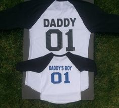 Perfect gift for Father and son  Daddy 01 by MyChildsDesigns
