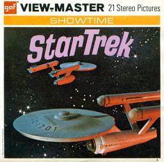Star Trek Original TV Show View Master 3D Reels