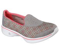 Skechers WomensLadies Go Walk 4 Edge Lightweight Breathable