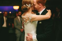 1st dance - Romantic Candlelit Evening Wedding by Woodnote Photography