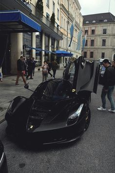 Blacked out LaFerrari