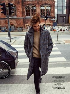 Matt Trethe + Roger Dupe Rock the Fall/Winter 2015 Collections for GQ France