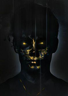 Dark Creatures  by Sami Shehadeh, via Behance