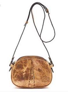 "Patricia Nash Sz Small ""Chania"" Crossbody Gold Metallic & Brown Handbag  | eBay"