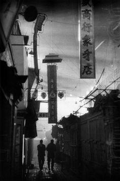 by Marc Riboud:   Pékin, 1957.