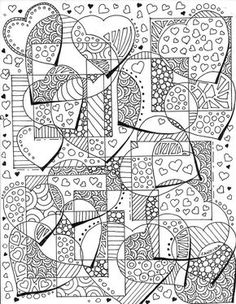 Scan 20160118 by candidaartstudio on DeviantArt Adult Coloring Book Pages, Cool Coloring Pages, Printable Coloring Pages, Coloring Books, Doodle Drawings, Doodle Art, Doodle Coloring, Zentangle Patterns, Zentangles