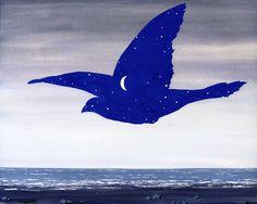 Le Baiser. René Magritte - circa 1957