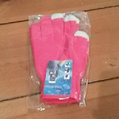 Touch Gloves Magic Knit touch gloves Accessories Gloves & Mittens