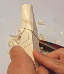 Simple project is perfect for teaching beginners or just fun for yourself! By Bob Kozakiewicz   You'll need just a carving knife and a small V-tool to carve this easy St. Nick project. Because it uses only a few basic straight cuts, this piece is perfect for teaching new carvers. They will …