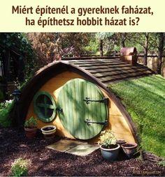 Hobbit ház a kertbe