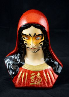 Hey, I found this really awesome Etsy listing at https://www.etsy.com/listing/194652279/hand-painted-virgin-mary-as-daruma-doll