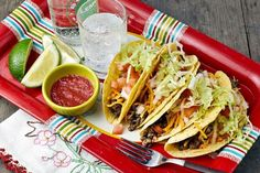 Lentil-Quinoa Taco Filling contains no soy or gluten yet, has an almost meaty texture that tacos love. Add seasonal veggies as a nice addition.