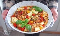 Tomaatti-fetabroileri - Arjen pelastaja no: 2 Keto, Paella, Food And Drink, Ethnic Recipes
