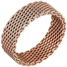 "Dreambase Damen-Ring ""Milanaise"" rotvergoldet Silber 54 (... https://www.amazon.de/dp/B01IO7EM2M/?m=A37R2BYHN7XPNV"